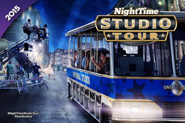 Universal Studios Hollywood nighttime studio tour