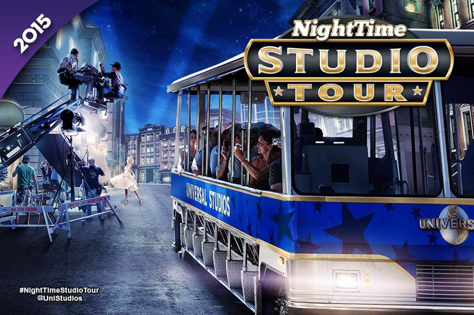 First Look: Universal Hollywood's New Nighttime Studio Tour