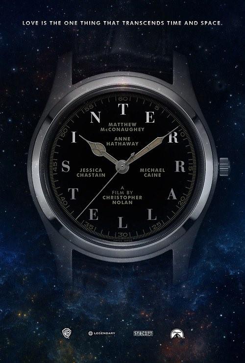 Interstellar poster by Daniel Conway.