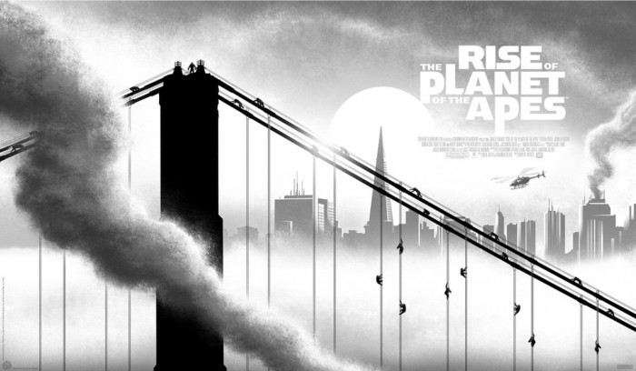 Rise of the Planet of the Apes by JC Richard