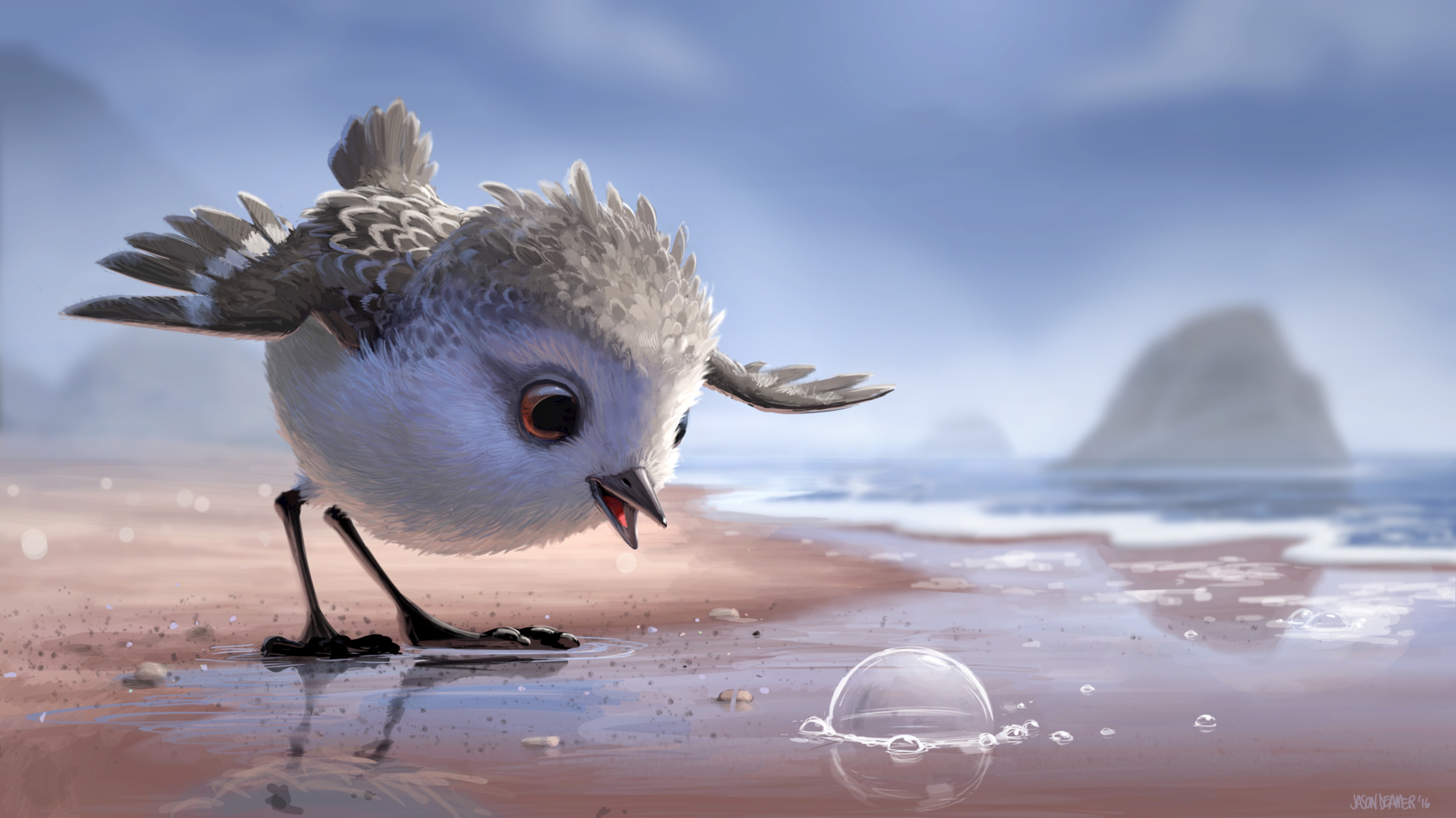 pixar short film piper: watch the first footage from pixar's best