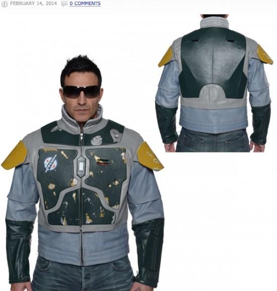 Star Wars Boba Fett Leather Street Jacket Replica