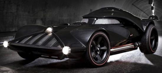 Life-Size Darth Vader Hot Wheels