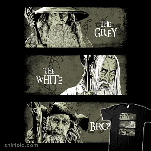 Wizards of Middle Earth t-shirt