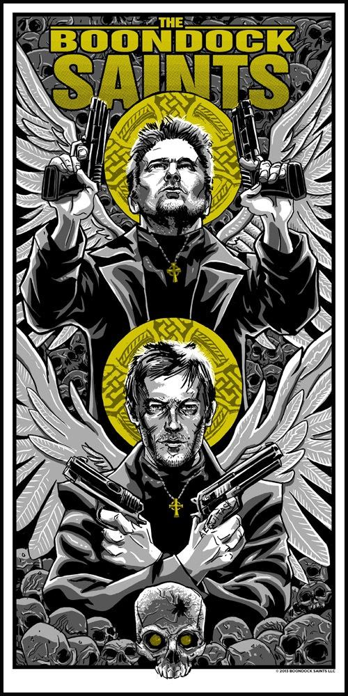 Boondock Saints print by Tim Doyle