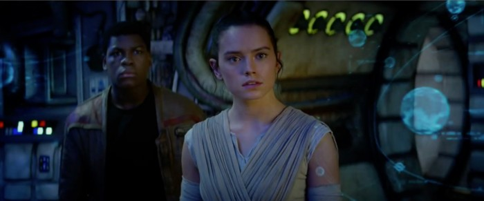 rey and finn Star Wars: the force awakens