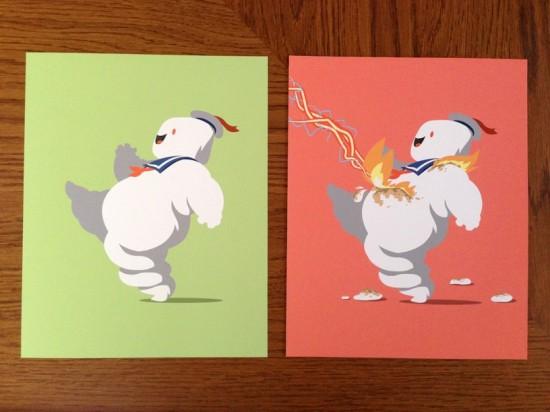 Happy Big Stay Puft' prints