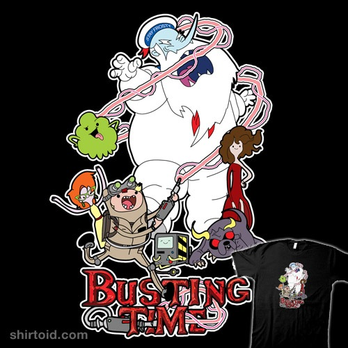 Busting Time t-shirt