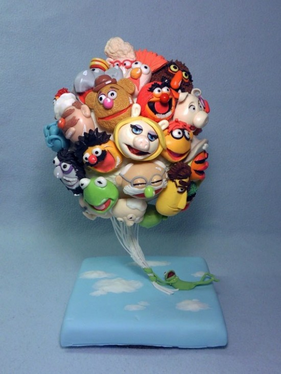 Muppets Balloons Cake