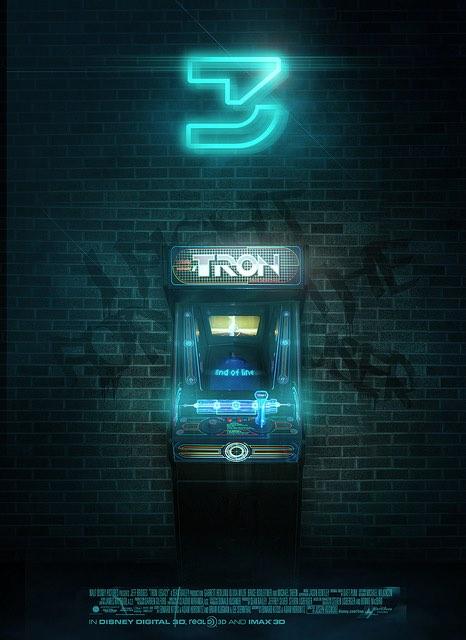 Tron 3 fan poster