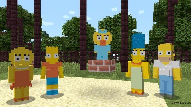 'The Simpsons' Headed to 'Minecraft'