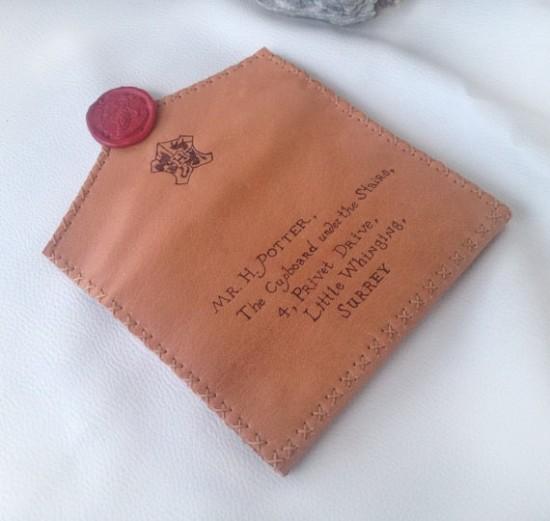 Harry Potter Envelope Turned Into Purse