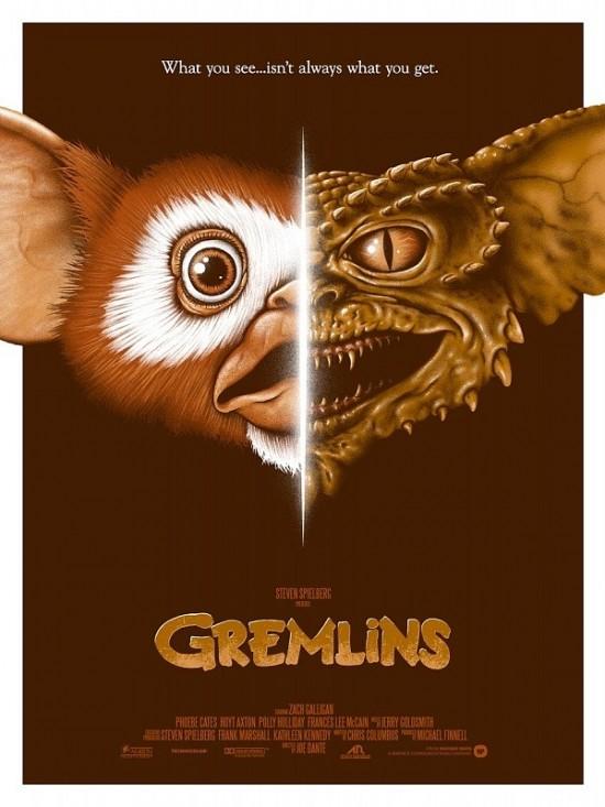 Adam Rabalais' Gremlins poster