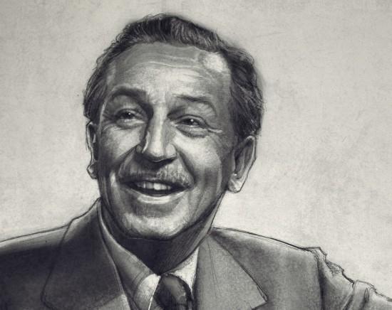 Paul Shipper's Walt Disney (close-up)