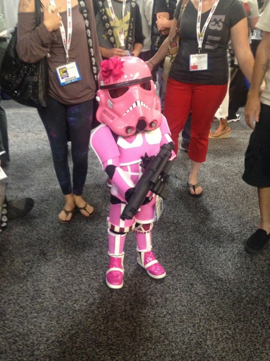 Little Girl Stormtrooper