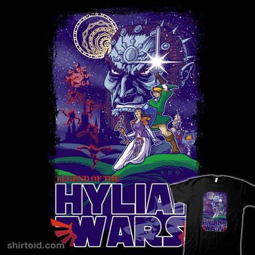 Hylian Wars t-shirt