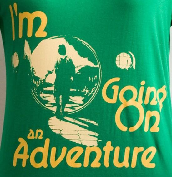 Bilbo Baggins: I'm Going On An Adventure [T-Shirt]