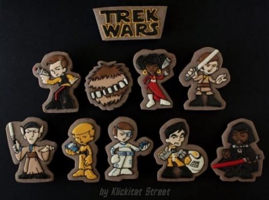 Trek Wars Cookies
