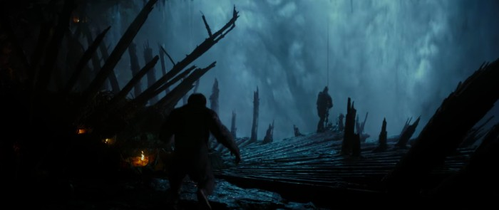 war for the planet of the apes ceasar in the hidden fortress
