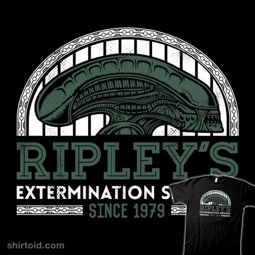 Exterminations Since 1979 t-shirt