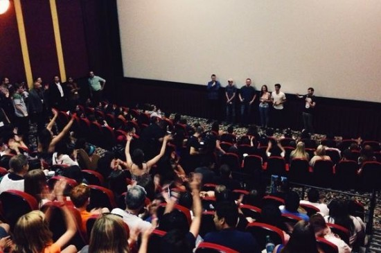 MAze Runner comic con screening from their official twitter