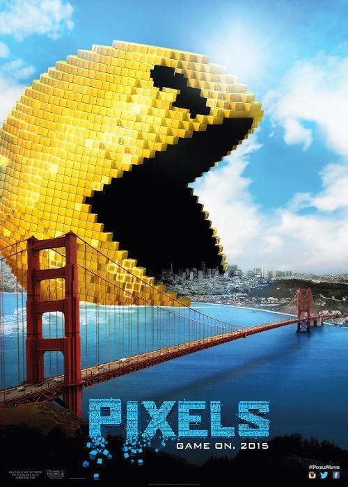 Pac Man Pixels poster