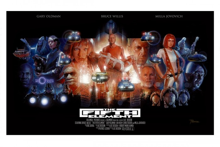 """Nick Runge: """"The Fifth Element"""" print"""