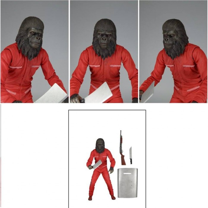 NECA: Conquest Of The Planet Of The Apes Gorilla Figure Images