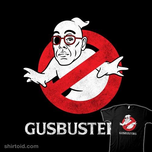 Gusbusters t-shirt