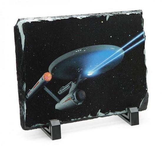 Star Trek Enterprise Granix Art Plaque