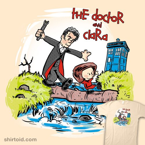The Doctor and Clara t-shirt