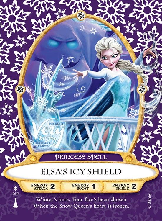 Elsa' Sorcerers of the Magic Kingdom Card