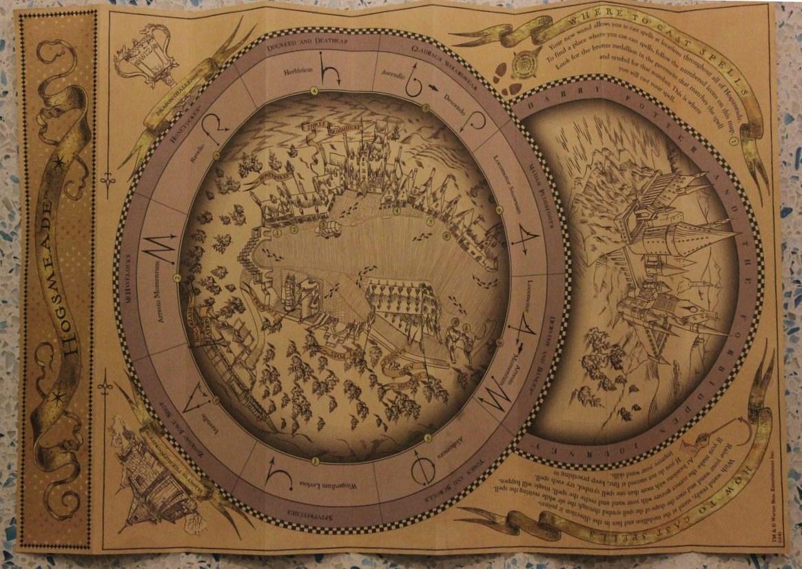 Hogsmeade Map