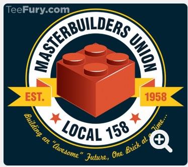 Masterbuilders Union t-shirt