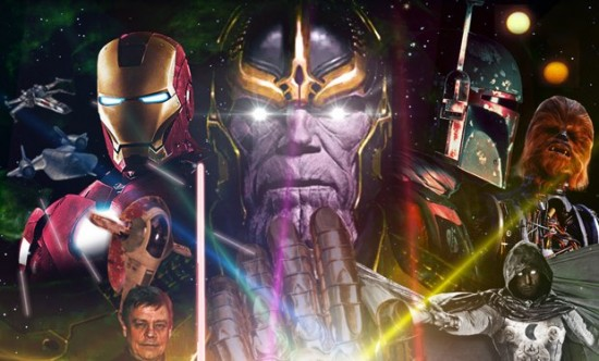 Avengers Star Wars MArvel