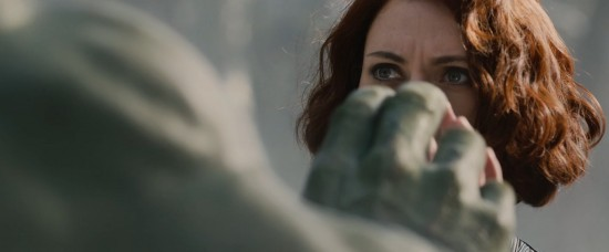 Avengers: Age of Ultron: Black Widow comes face to face, palm to palm with The Incredible Hulk