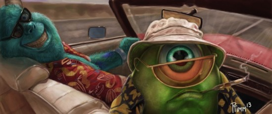 Monster S. Thompson stars in Fear and Loathing in Monstropolis