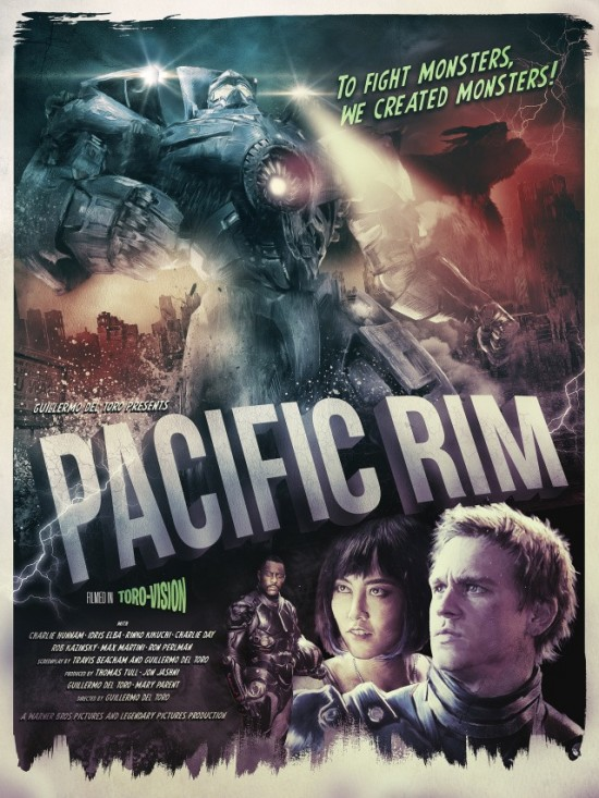 Richard Davies' Pacific Rim poster