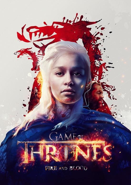Game of Thrones Character Art Prints by Adam Spizak