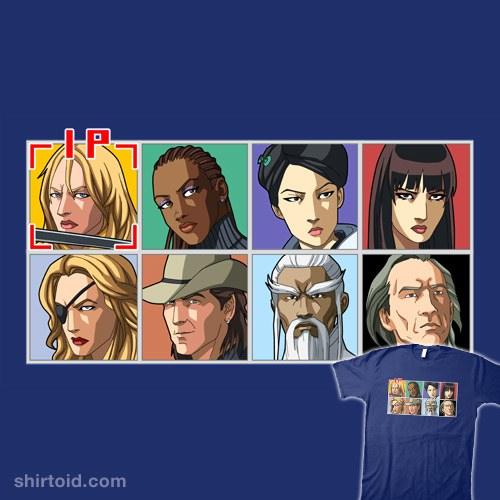 Kill Bill: Arcade Edition HD Remix t-shirt
