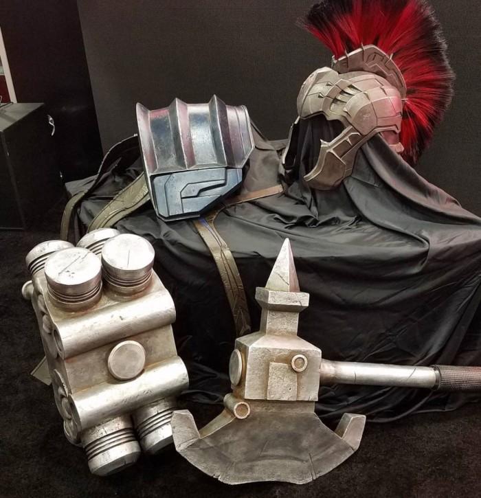 Thor Ragnarok Hulk gladiator armor
