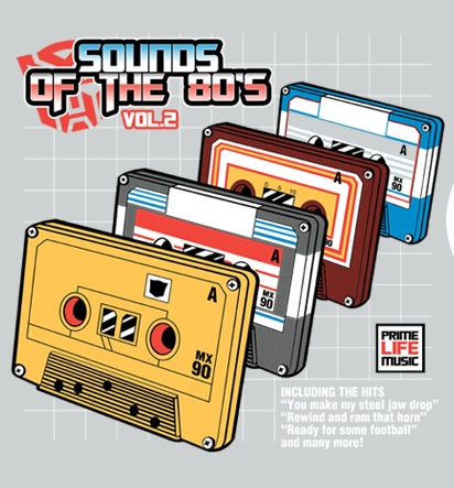 """Transformers-inspired design """"Sounds Of The 80s Vol2"""""""