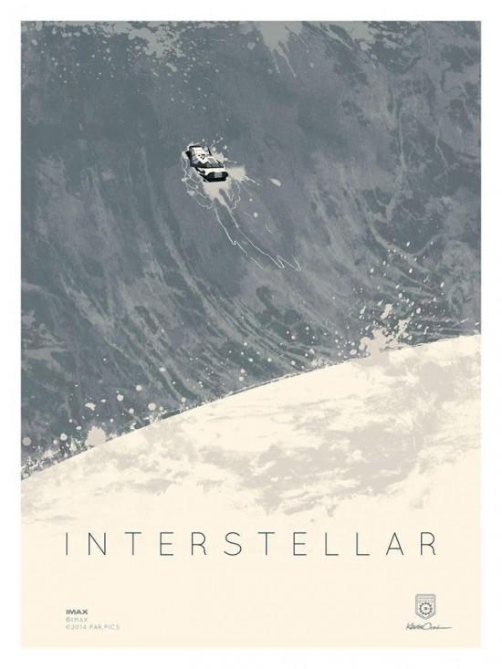 Kevin Dart's Interstellar poster 2