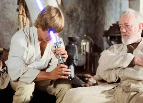 Classic Example Of Improper Use Of a Lightsaber