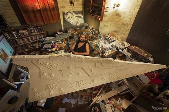 Gigantic Hand-Carved