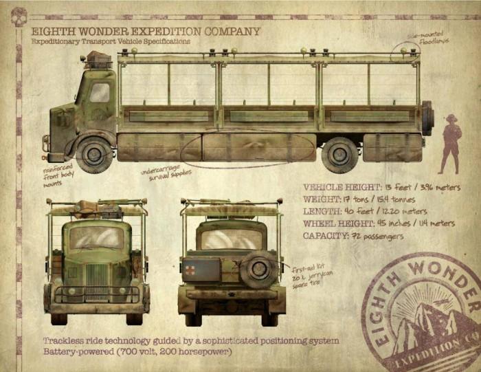 skull island: reign of kong vehicles