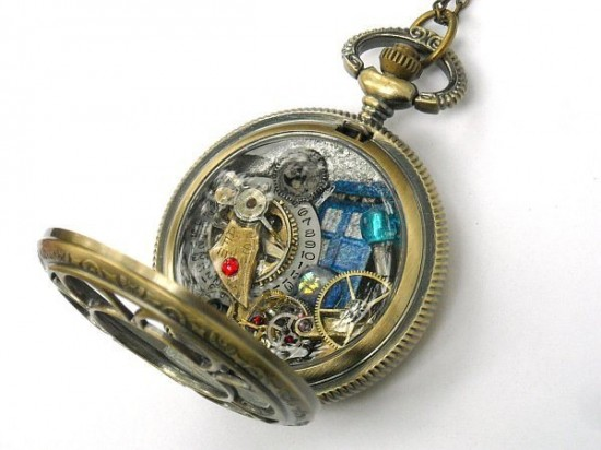 Doctor Who-Themed Jewelry by Time Machine Jewelry