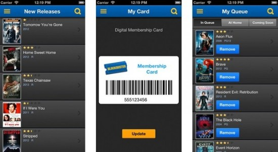 Blockbuster 2.0 for iOS