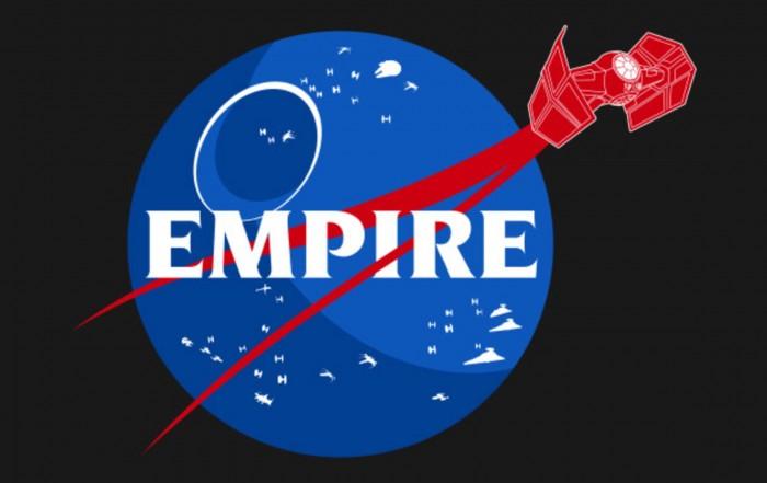 Empire nasa parody t-shirt
