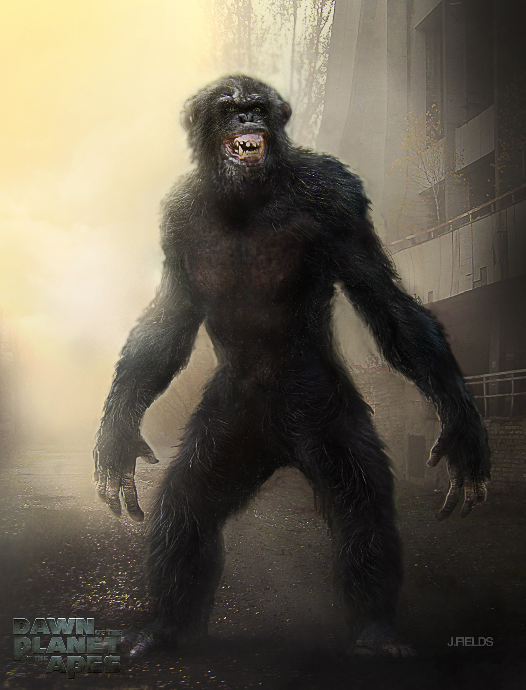 dawn of the planet of the apes concept art